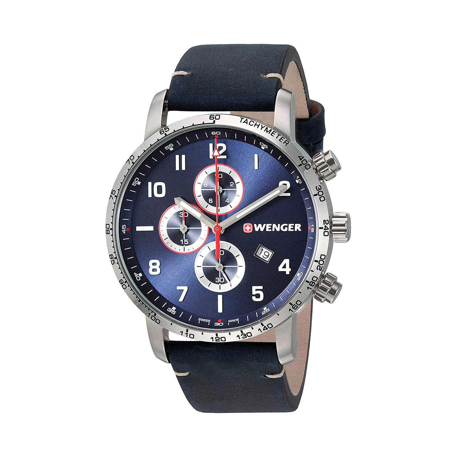 ساعت مچی عقربه ای مردانه ونگر مدل 01.1543.109 -  - 2