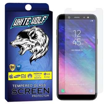 محافظ صفحه نمایش وایت ولف مدل WGS مناسب برای گوشی موبایل سامسونگ Galaxy A6 2018