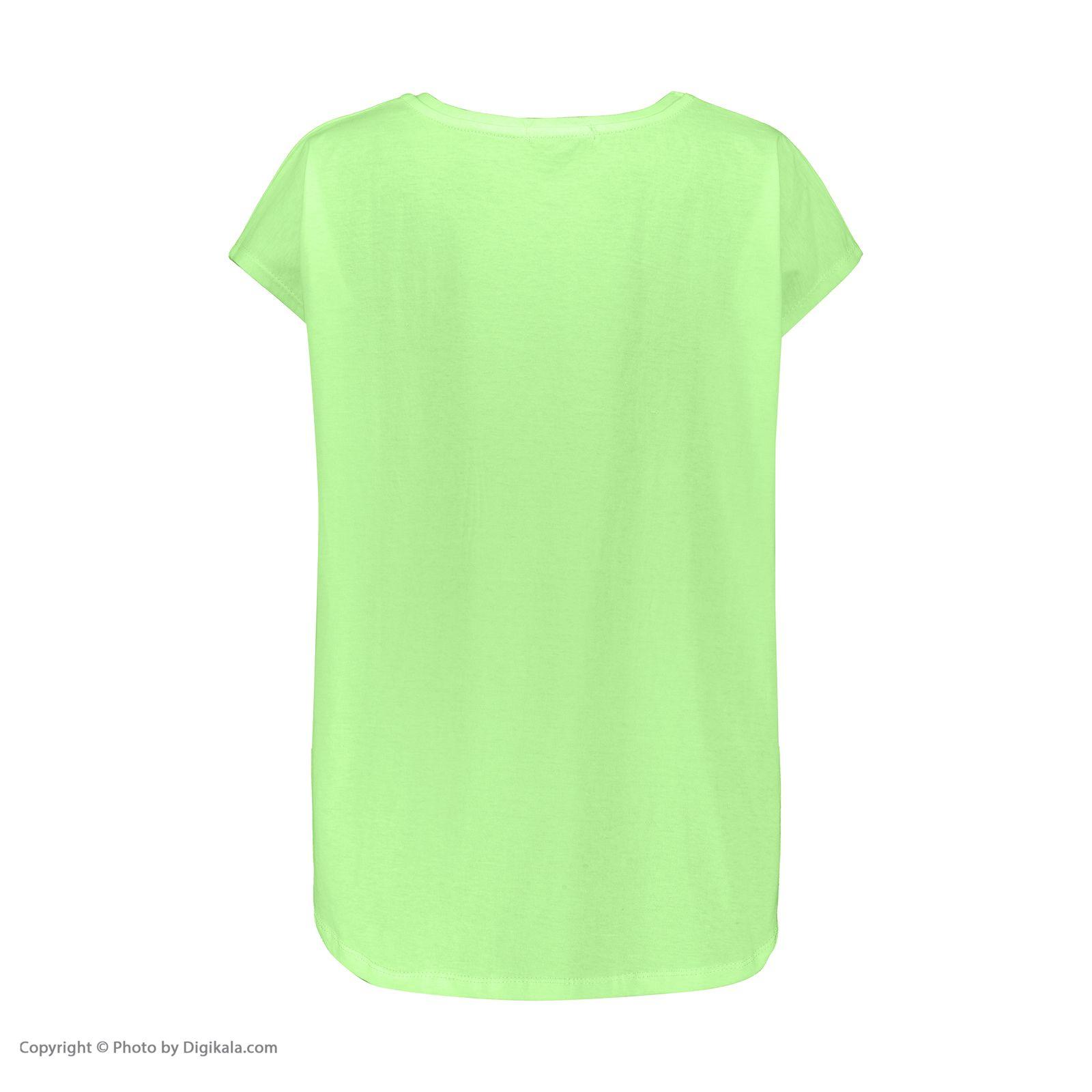 تی شرت زنانه آر ان اس مدل 1102049-43 -  - 4
