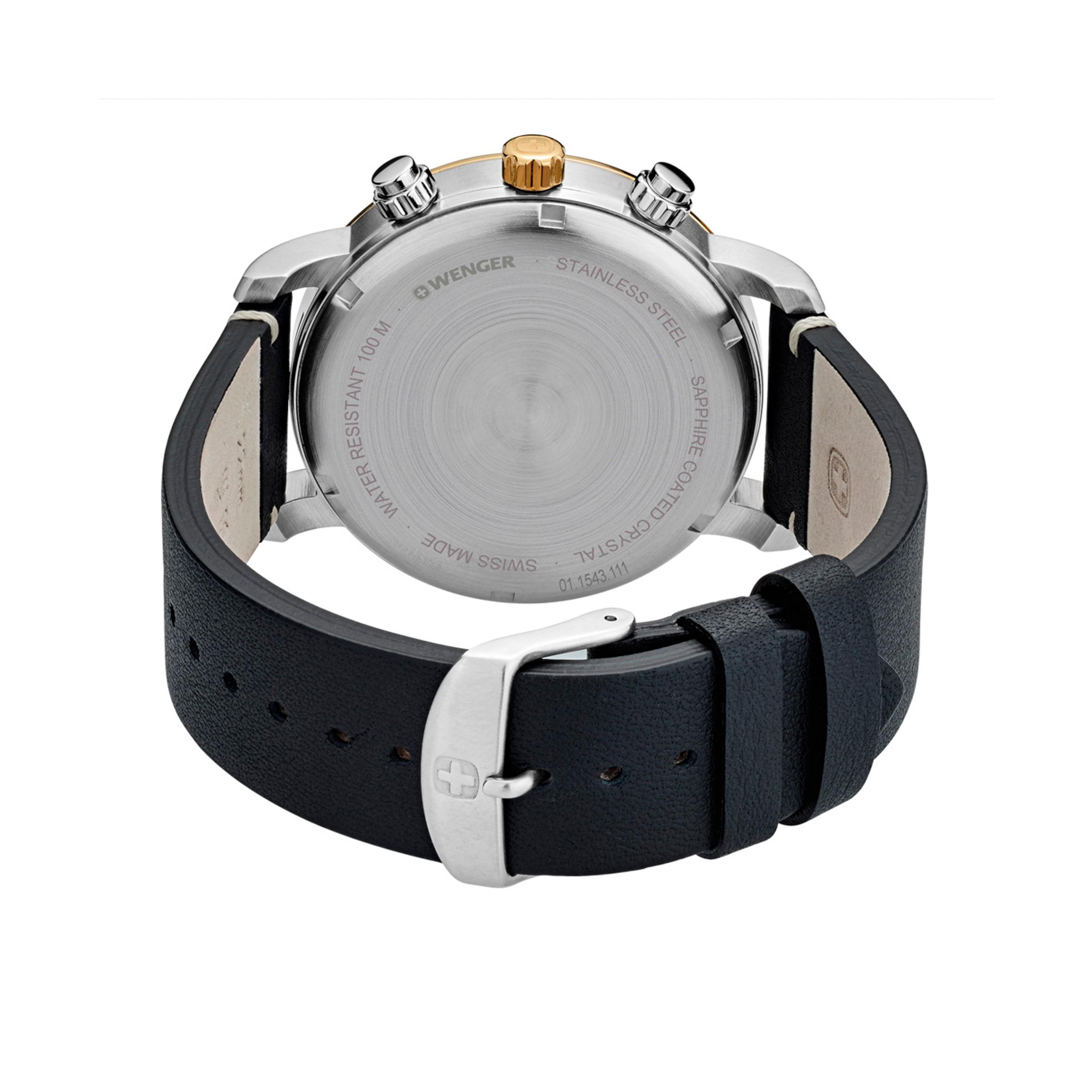ساعت مچی عقربه ای مردانه ونگر مدل 01.1543.111 -  - 4
