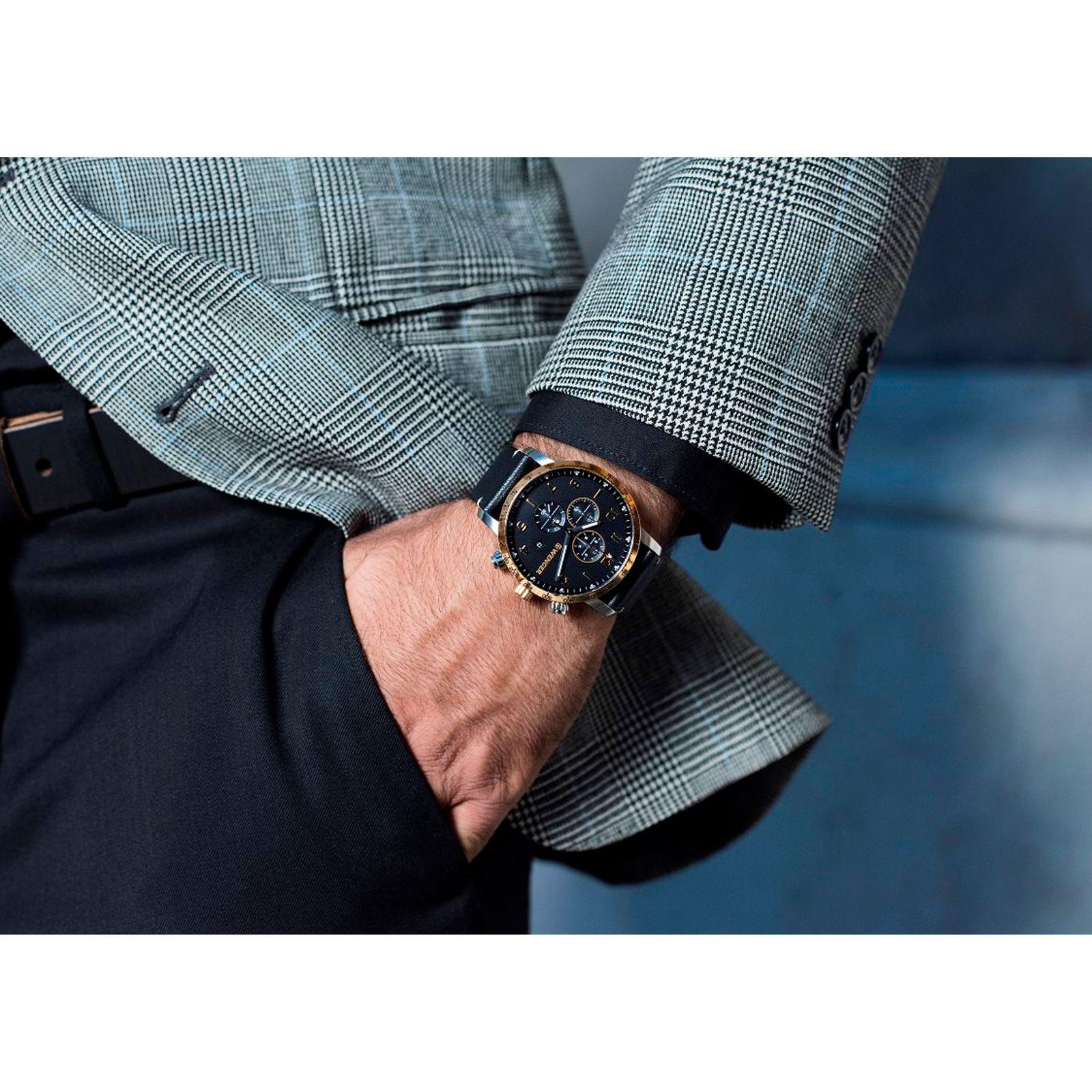 ساعت مچی عقربه ای مردانه ونگر مدل 01.1543.111 -  - 3
