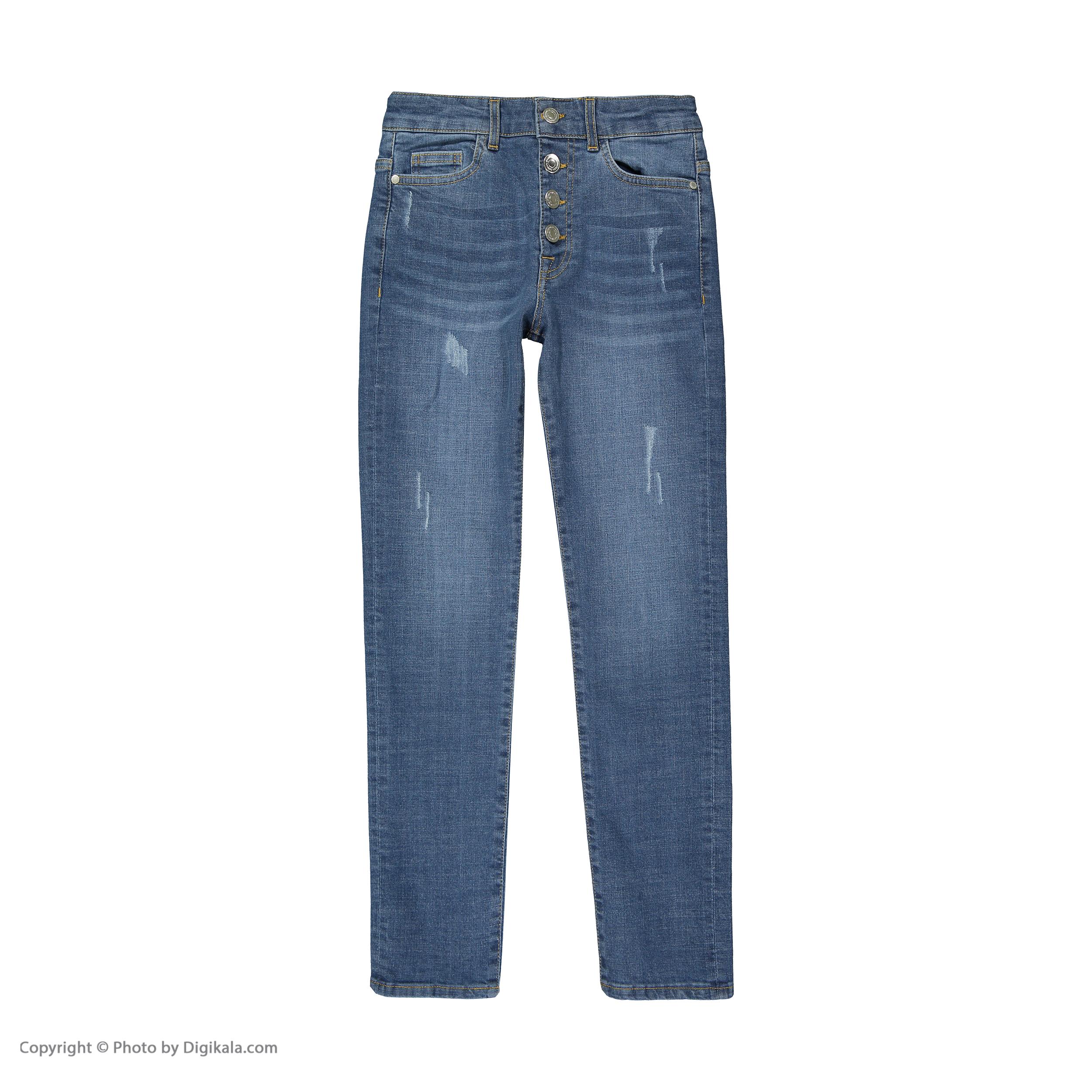 شلوار جین زنانه آر ان اس مدل 1104075-59 -  - 2