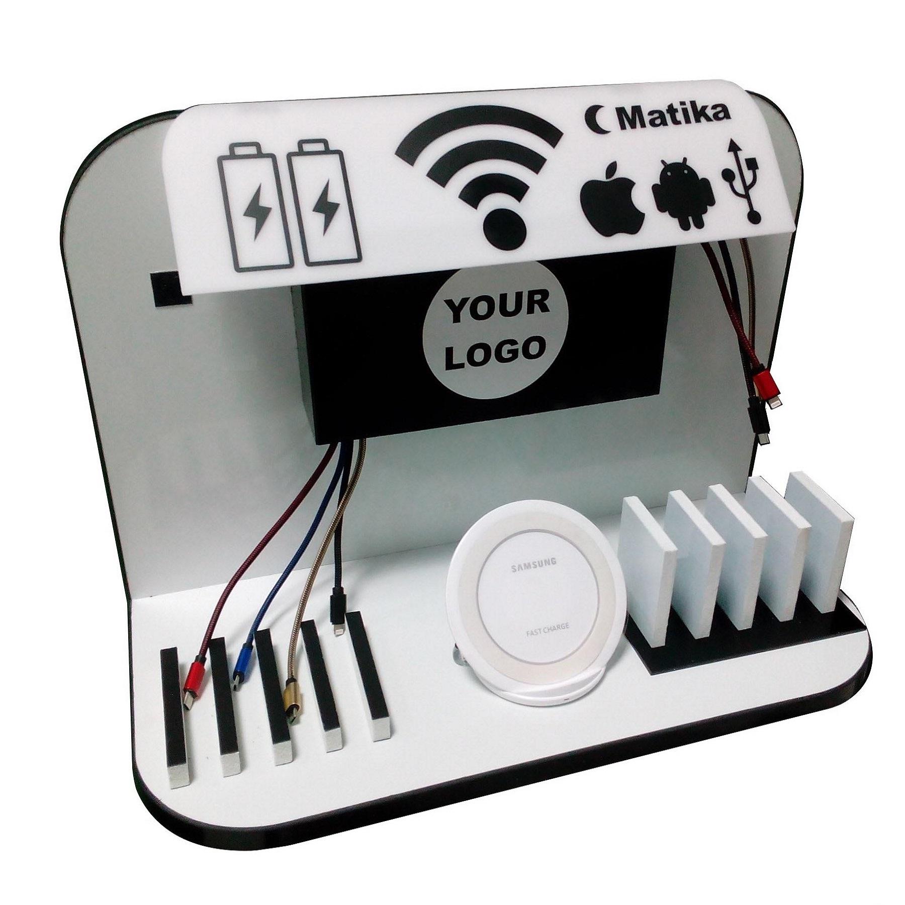 ایستگاه شارژ موبایل و تبلت ماتیکا مدل TWII-W