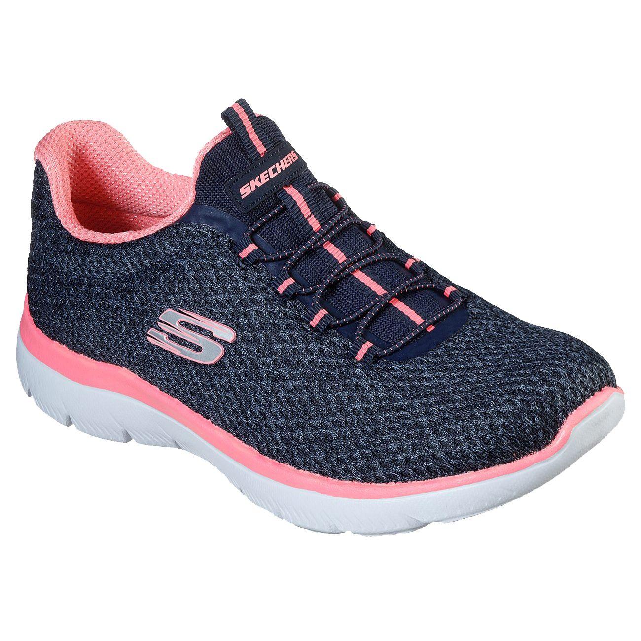 کفش مخصوص پیاده روی زنانه اسکچرز مدل 12986-NVPK -  - 2