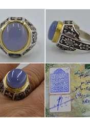 انگشتر نقره مردانه کد s20 -  - 1