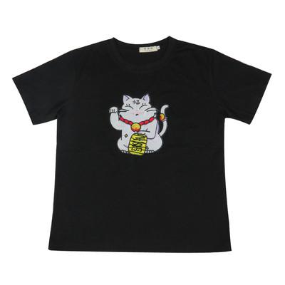 تی شرت زنانه طرح گربه کد brfp-159