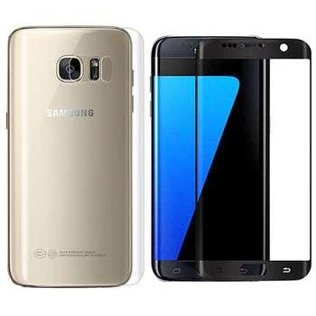 محافظ صفحه نمایش و پشت گوشی مدل TP24 مناسب برای گوشی موبایل سامسونگ Galaxy S7 Edge