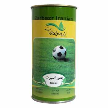 بذر چمن زر بذر ایرانیان مدل اسپرت کد GH100g-63