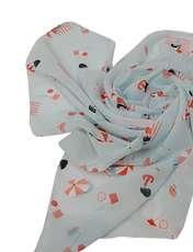 روسری دخترانه مدل تتیس کد 03601  -  - 1