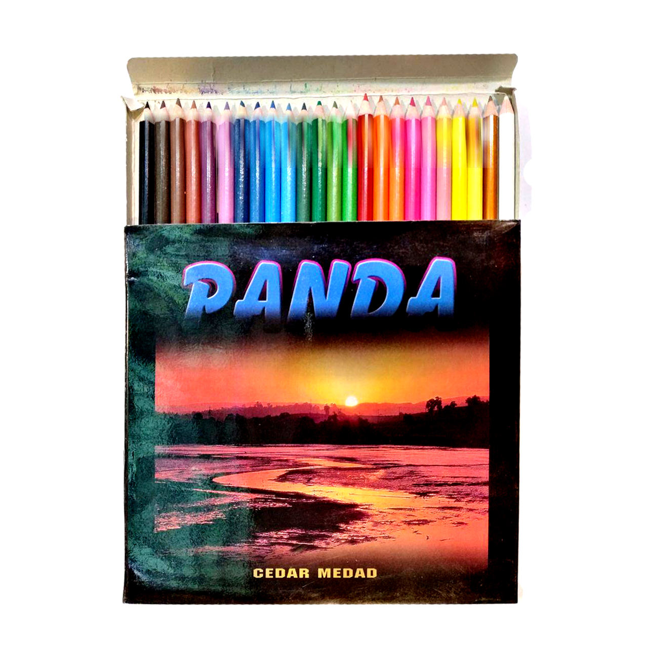 مداد رنگی 24 رنگ پاندا مدل ساحل main 1 1