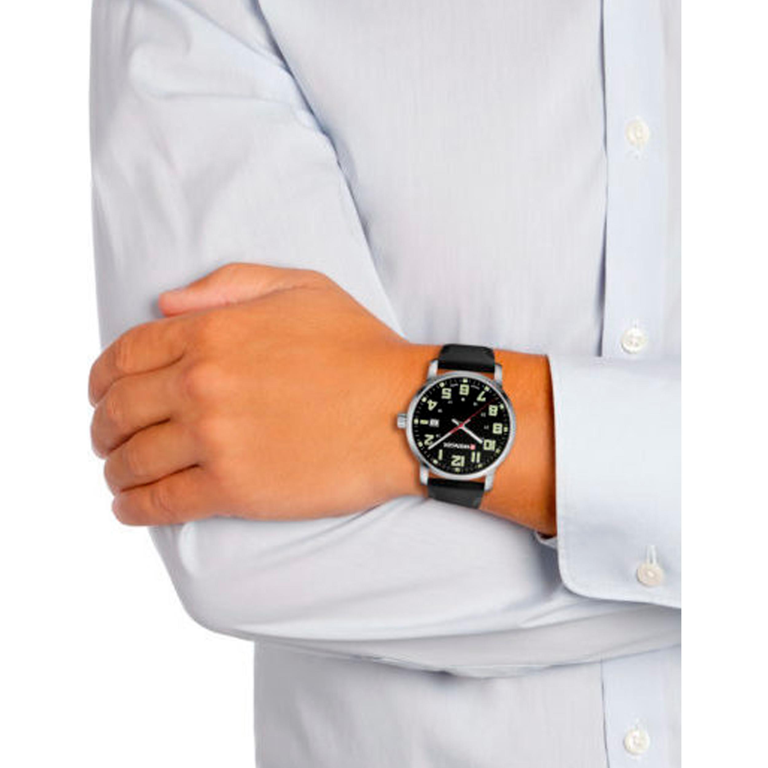 ساعت مچی عقربه ای مردانه ونگر مدل 01.1641.110 -  - 4
