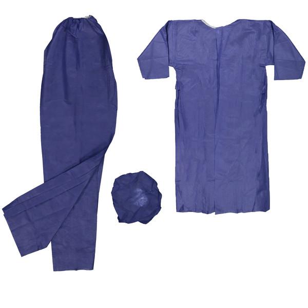 لباس یکبار مصرف بیمارستانی مدل SLM59