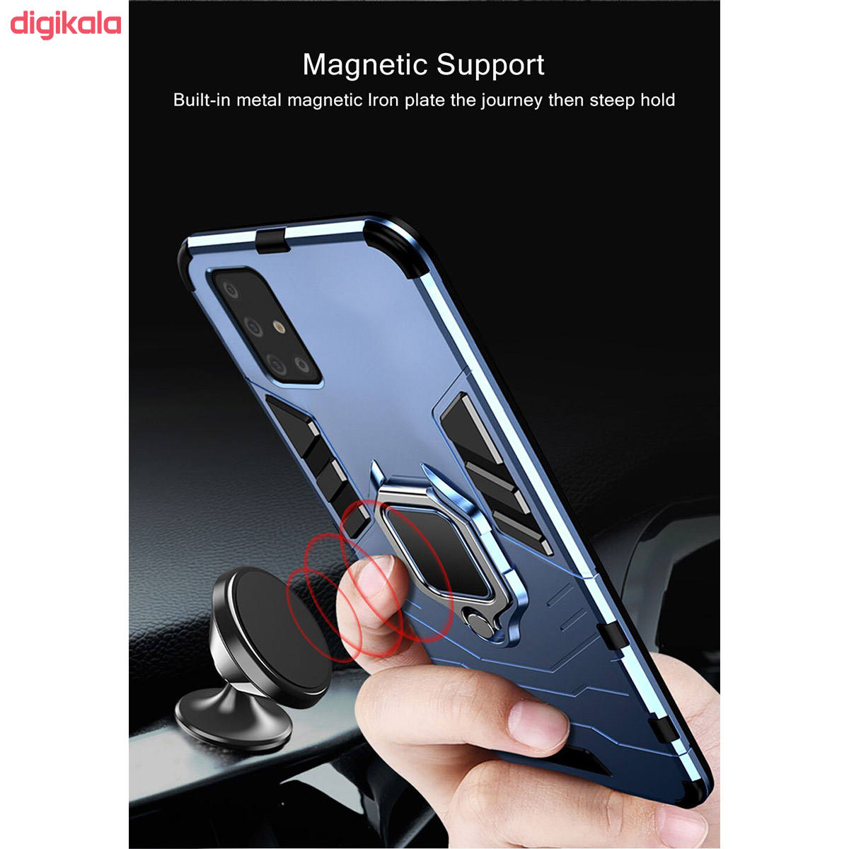کاور سامورایی مدل ARC-2020 مناسب برای گوشی موبایل سامسونگ Galaxy A71 main 1 11