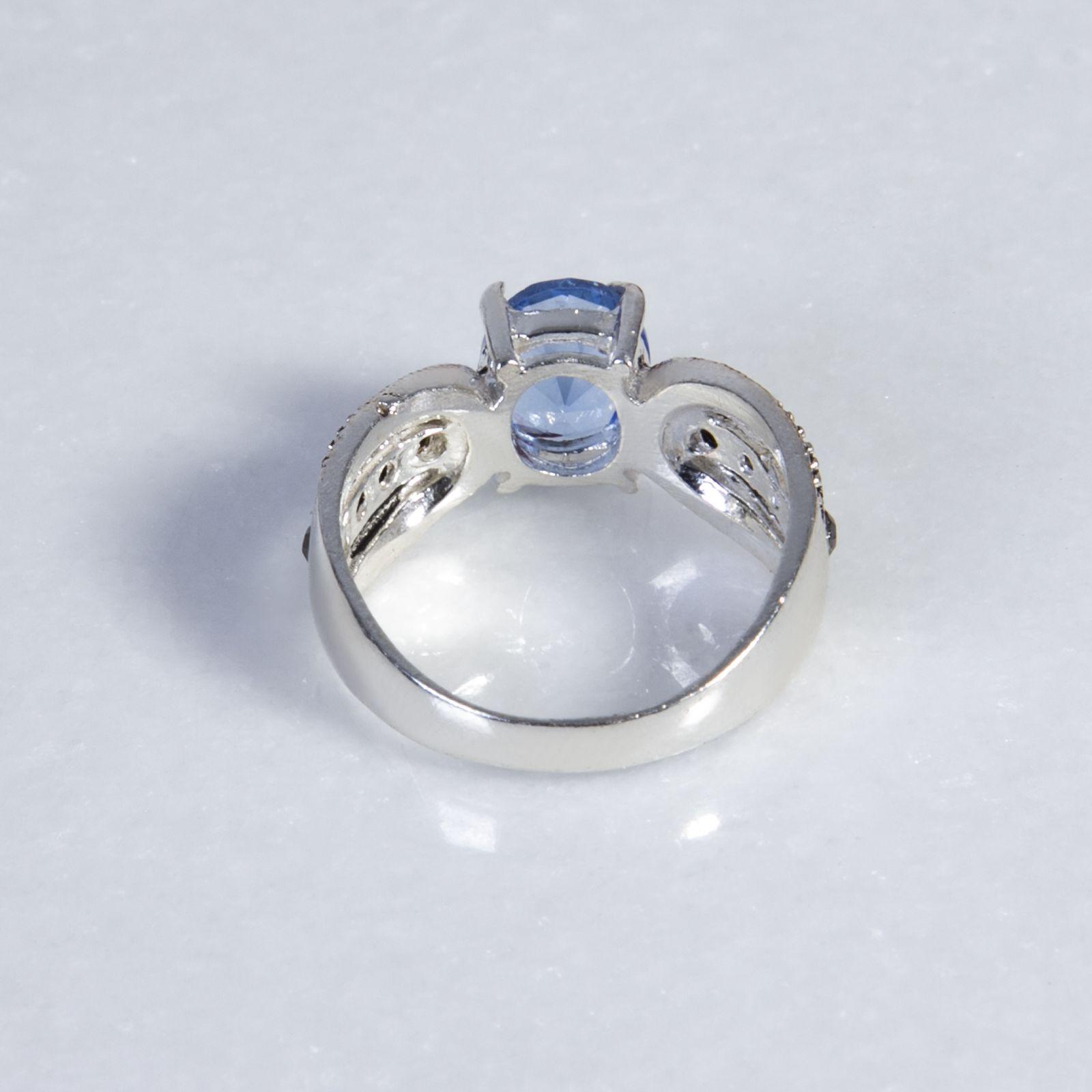 انگشتر نقره زنانه بازرگانی ميلادی  کد AW_089 -  - 2