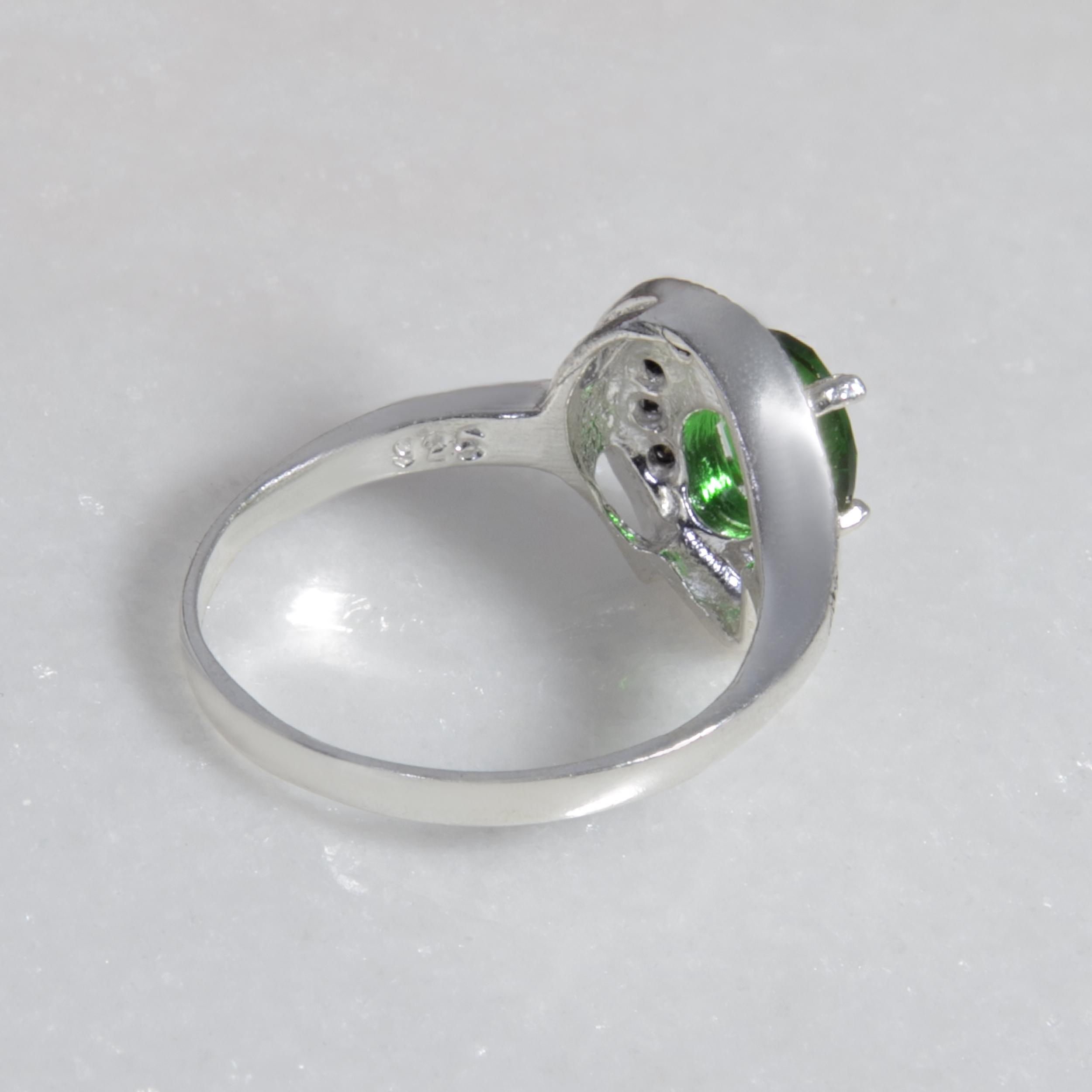 انگشتر نقره زنانه بازرگاني ميلادي  کد AW_090 -  - 5