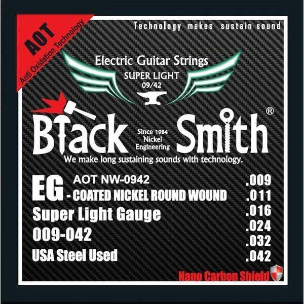 سیم گیتار الکتریک بلک اسمیت مدل AOTNW 9-42