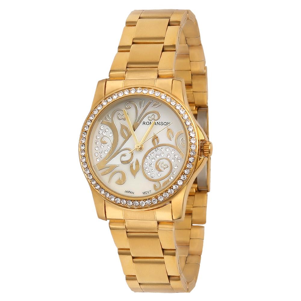 ساعت مچی عقربه ای زنانه رومانسون مدل W-118