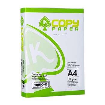 کاغذ A4 آی کی کپی پیپر مدل TRUTONE بسته 500 عددی