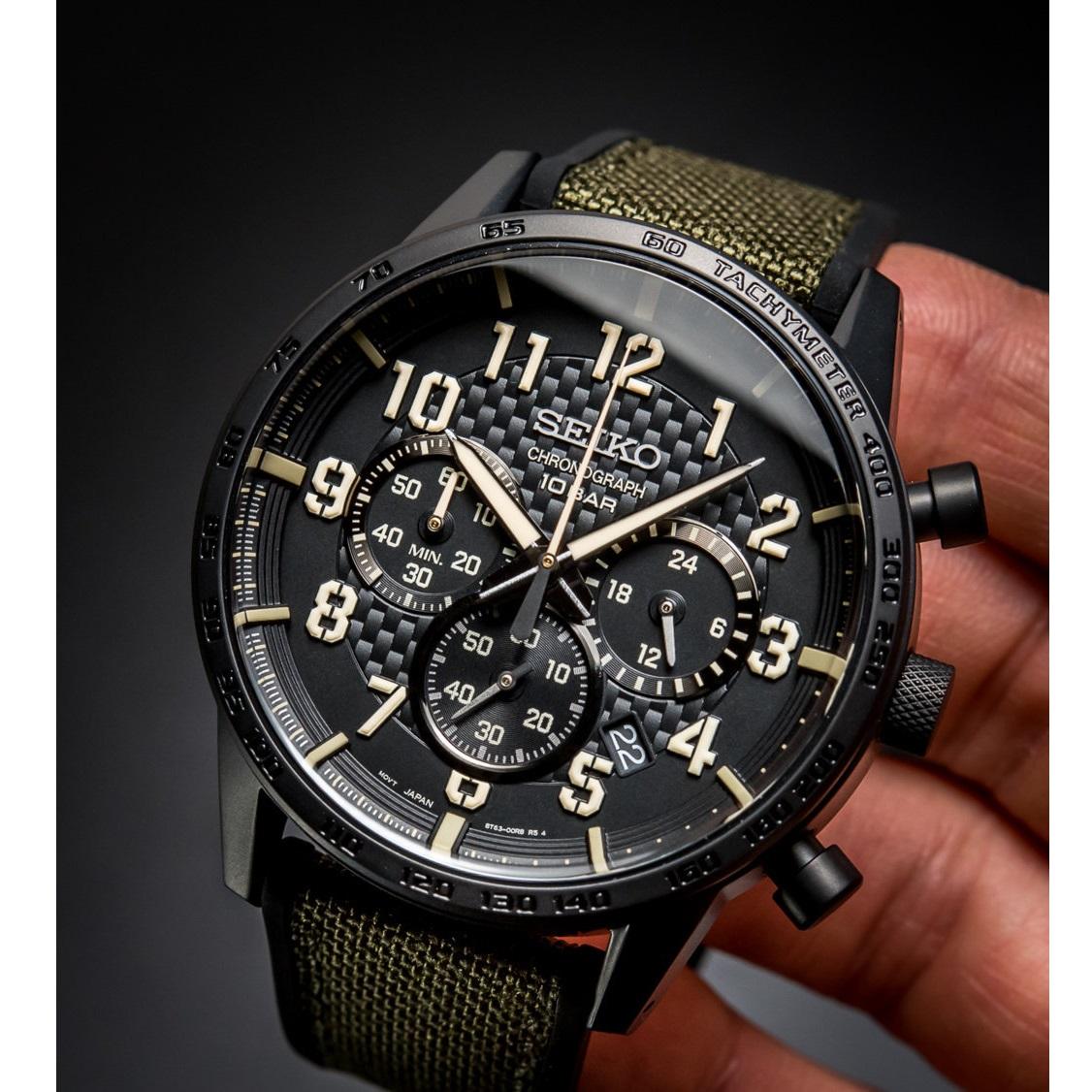 ساعت مچی عقربه ای مردانه سیکو مدل SSB369P1