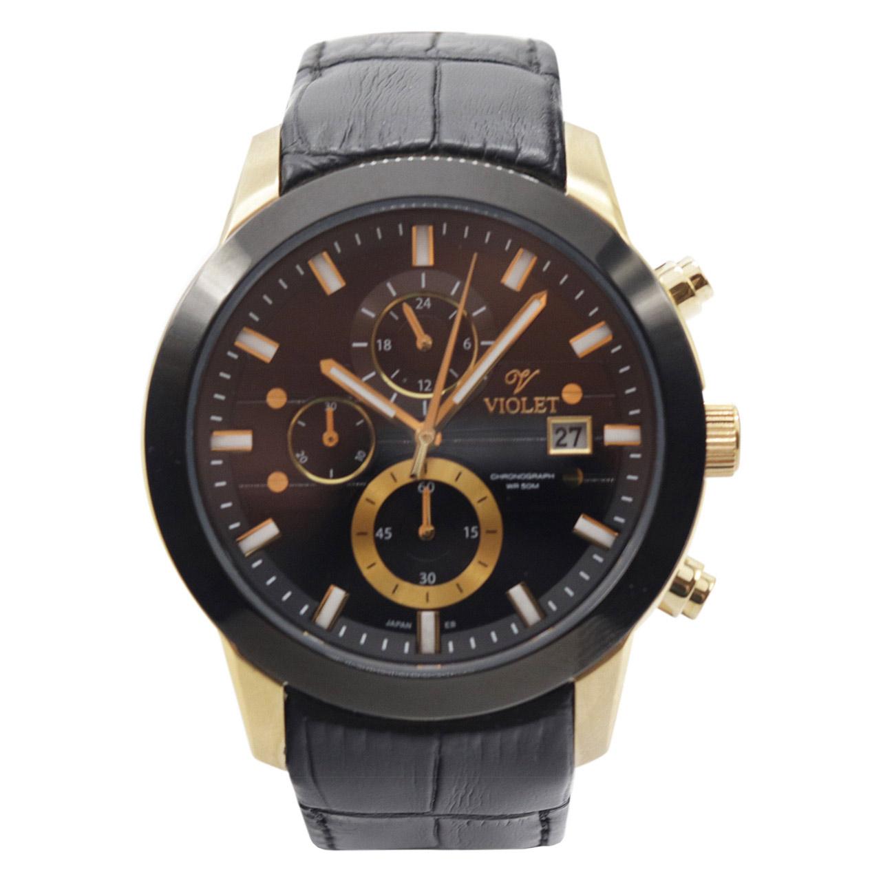 ساعت مچی عقربه ای مردانه ویولت مدل 0407G