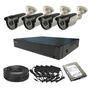 سیستم امنیتی آنالوگ برایتون مدل P404C4V2