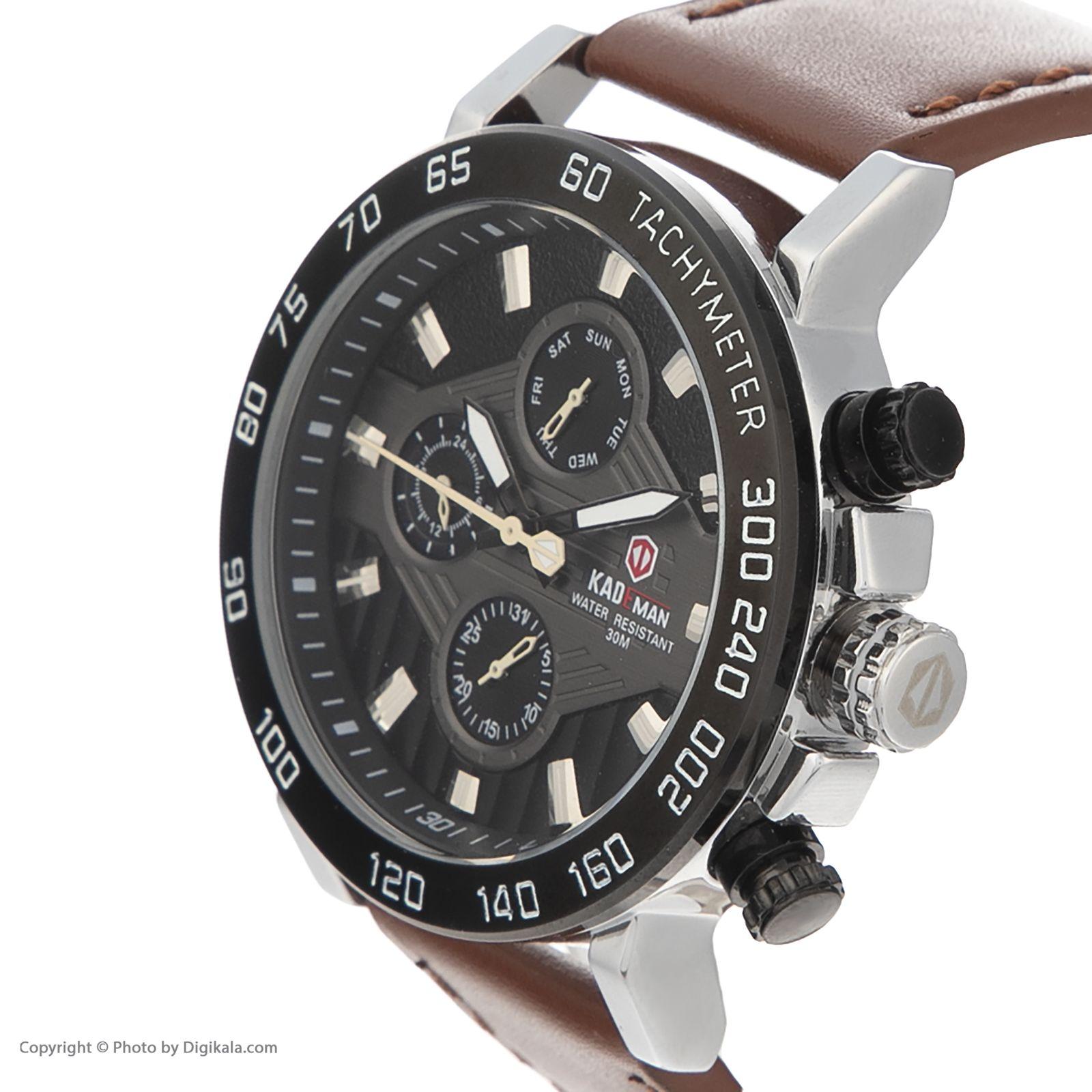 ساعت مچی عقربه ای مردانه کیدمن کد 08 به همراه دستبند -  - 4