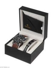 ساعت مچی عقربه ای مردانه کیدمن کد 08 به همراه دستبند -  - 8