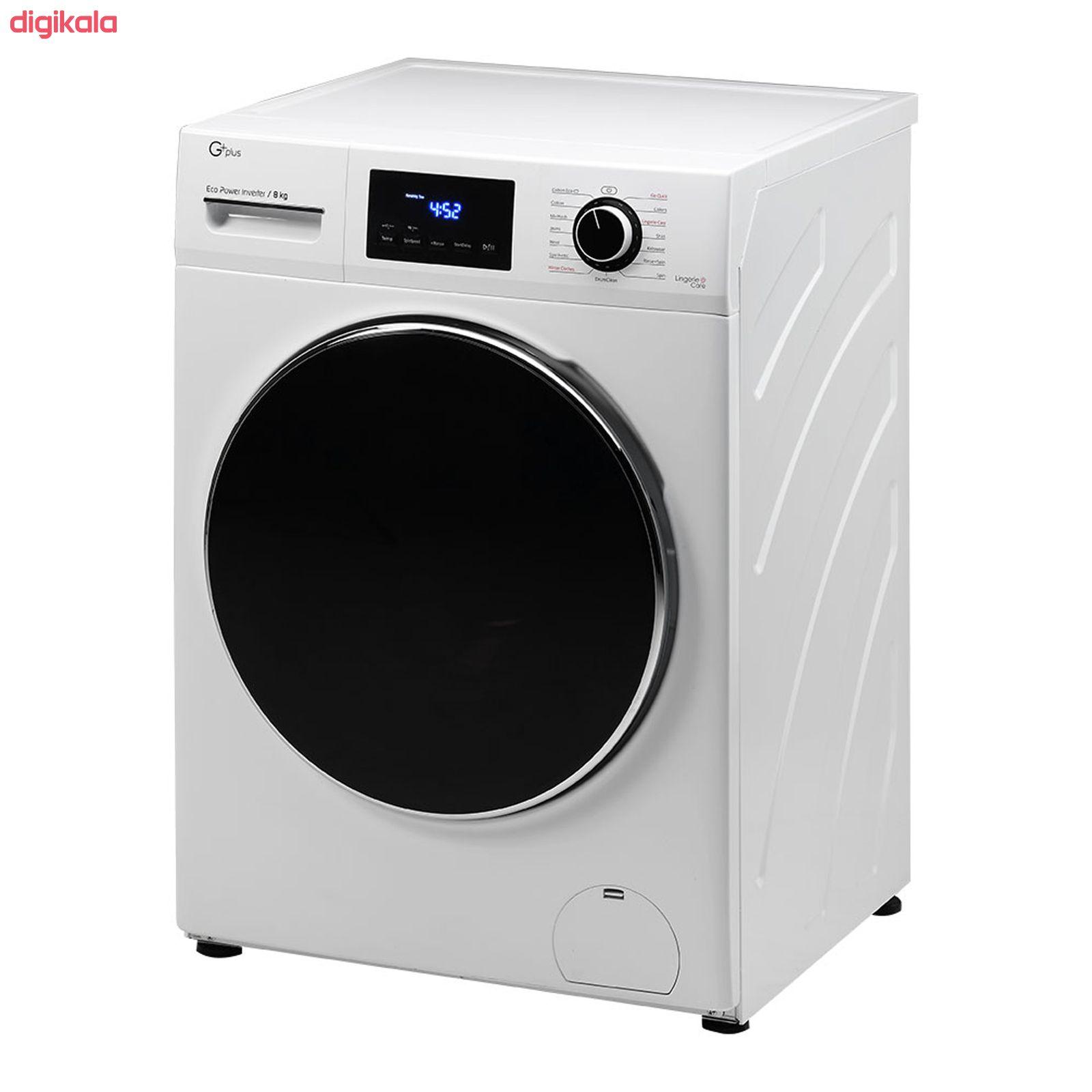 ماشین لباسشویی جی پلاس مدل J8470W ظرفیت 8 کیلوگرم main 1 2