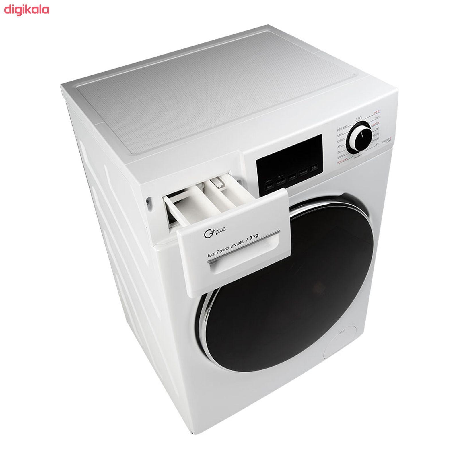 ماشین لباسشویی جی پلاس مدل J8470W ظرفیت 8 کیلوگرم main 1 4