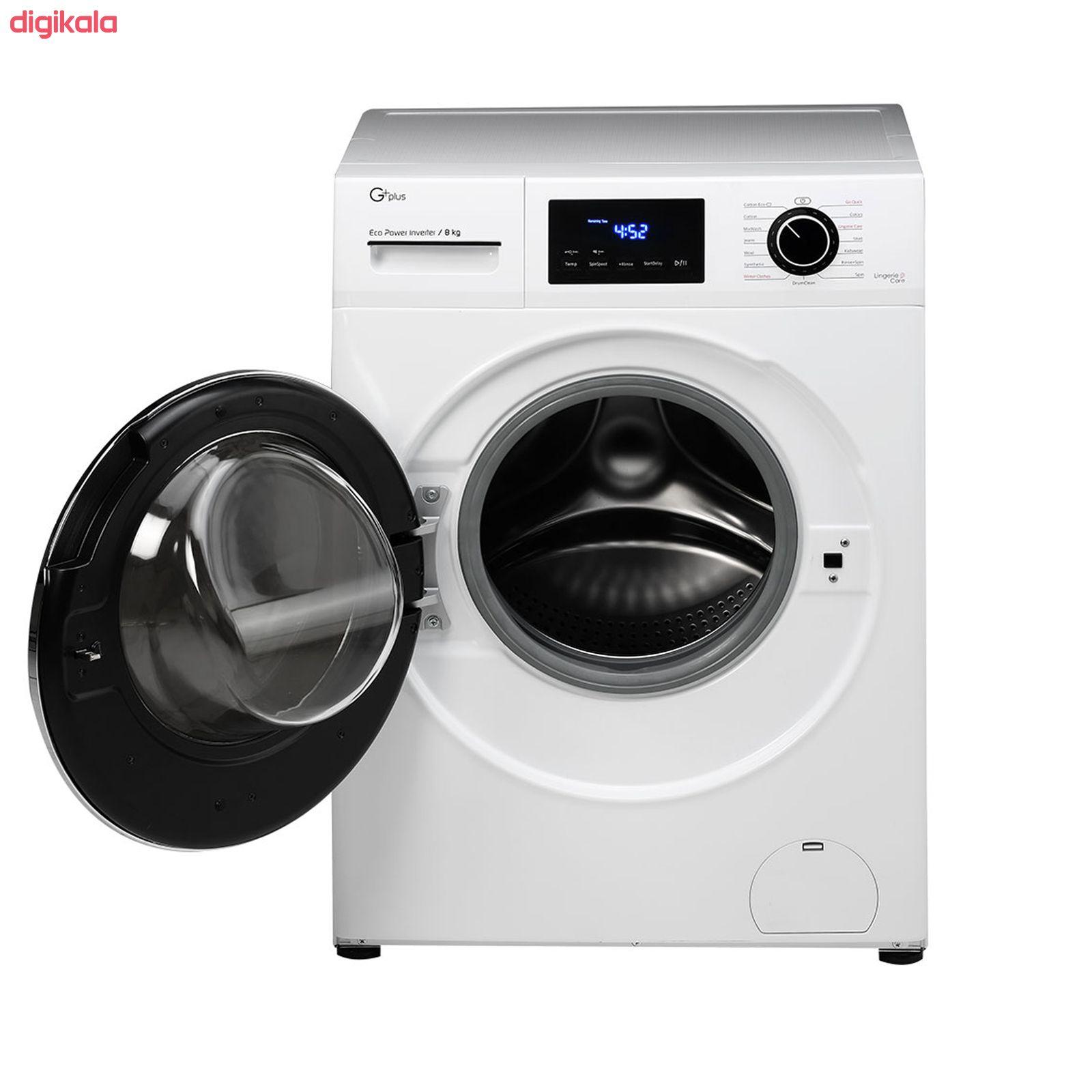 ماشین لباسشویی جی پلاس مدل J8470W ظرفیت 8 کیلوگرم main 1 6