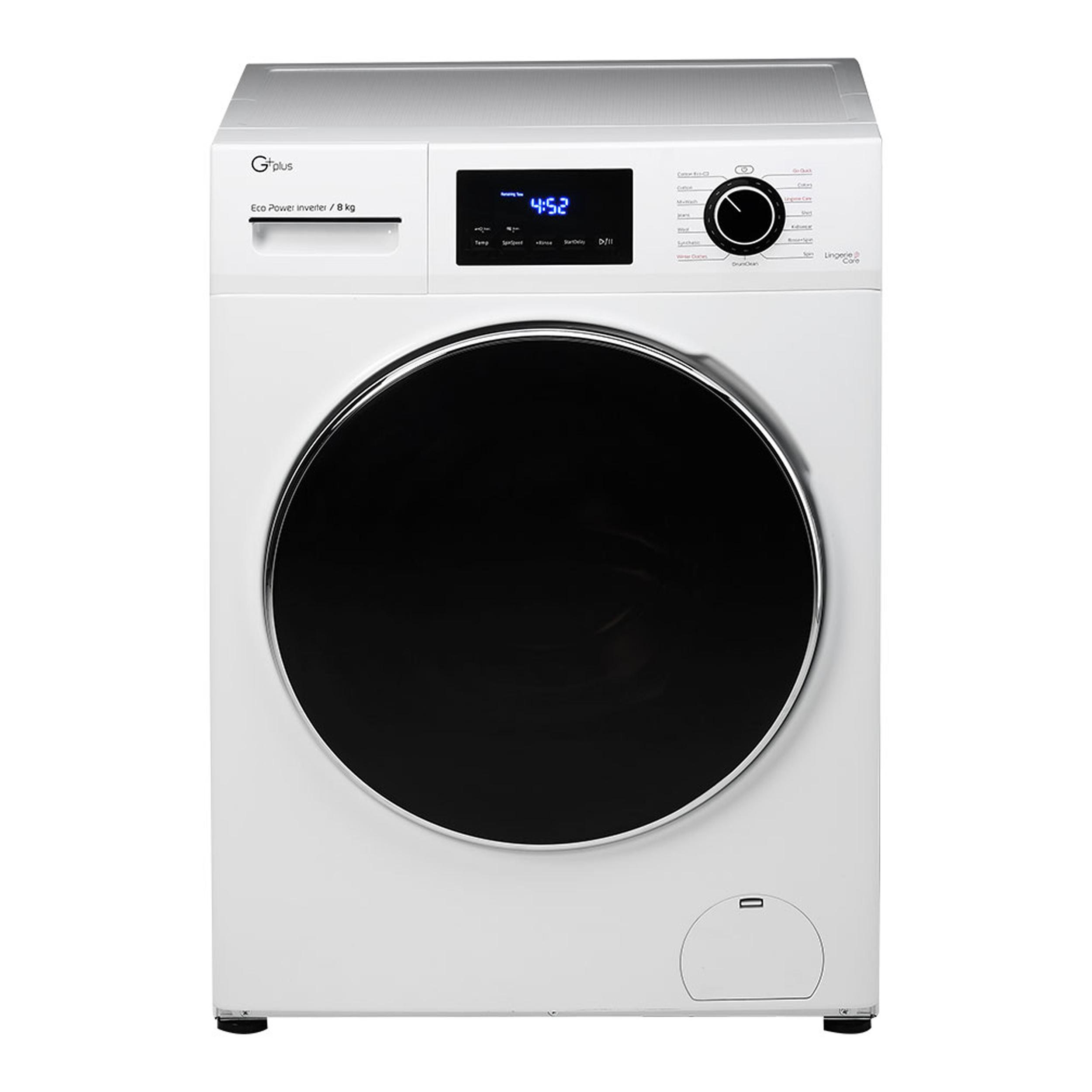 ماشین لباسشویی جی پلاس مدل J8470W ظرفیت 8 کیلوگرم main 1 7