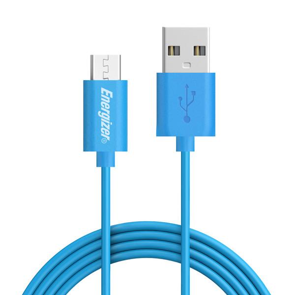 کابل تبدیل USB به microUSB انرجایزر مدل C11UBMCGBL3 طول 1.2 متر