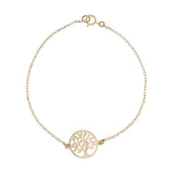دستبند طلا 18 عیار زنانه کانیار گالری کد DZ29
