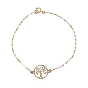 دستبند طلا 18 عیار زنانه کانیار گالری کد DZ24