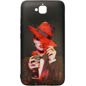 کاور طرح Madam کد 0465 مناسب برای گوشی موبایل هوآوی Y6 Pro