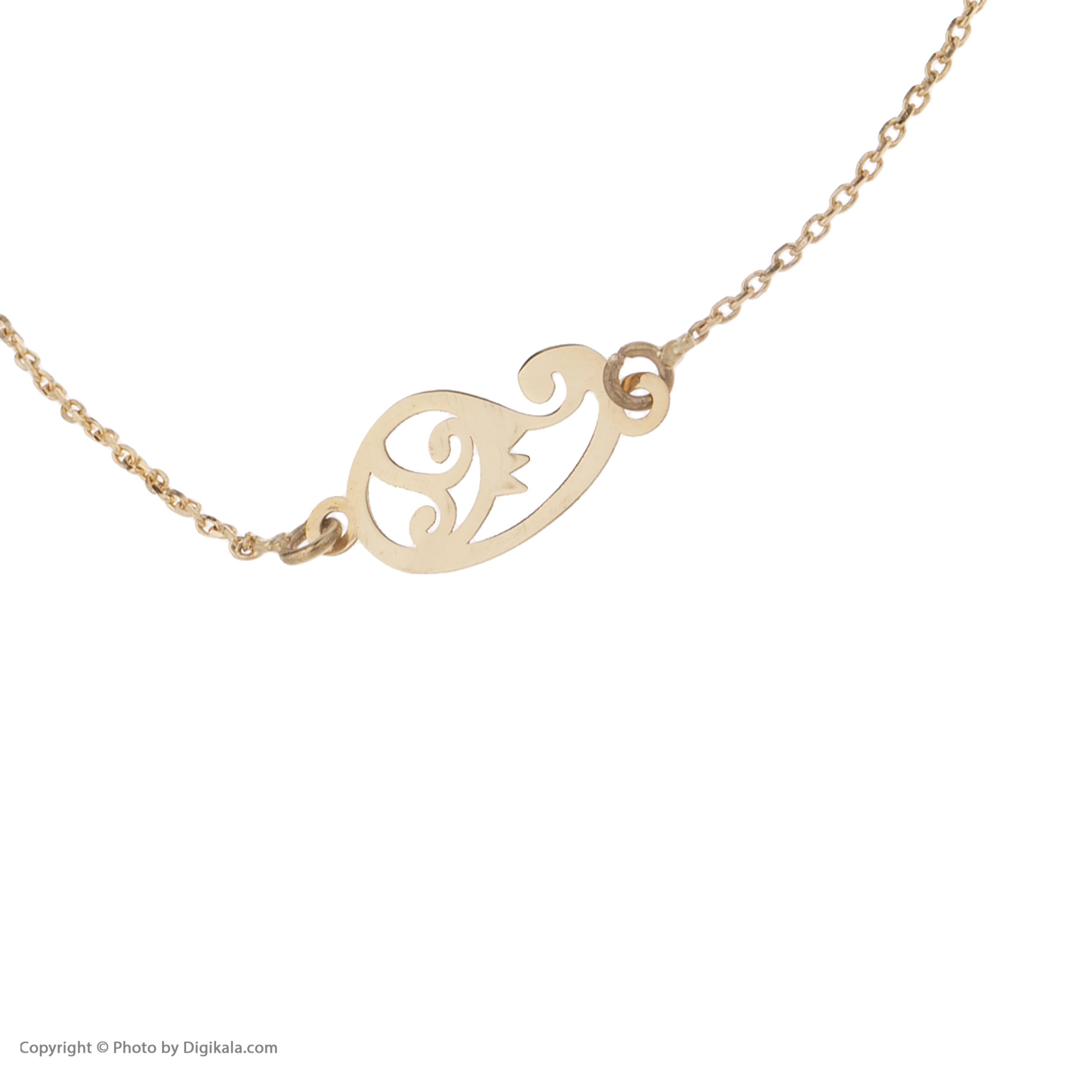 دستبند طلا  عیار نه کانیار گالری کد 1299