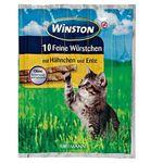 تشویقی گربه وینستون مدل Hähnchen & Ente بسته 5 عددی thumb
