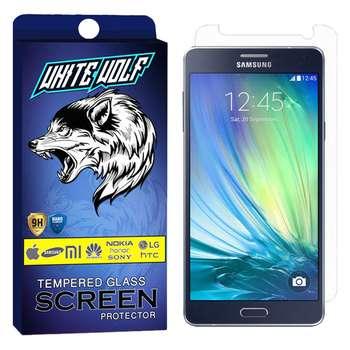 محافظ صفحه نمایش وایت ولف مدل WGS مناسب برای گوشی موبایل سامسونگ Galaxy A7 2015