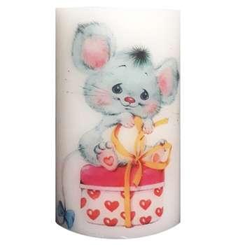شمع طرح موش و قلب کد ۹۹