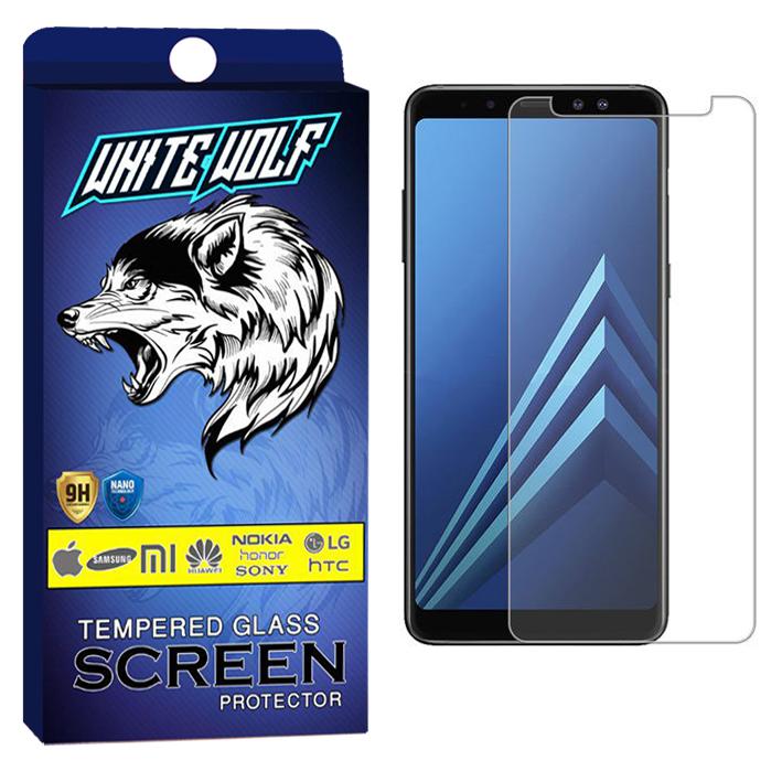 محافظ صفحه نمایش وایت ولف مدل WGS مناسب برای گوشی موبایل سامسونگ Galaxy A7 2018/A750