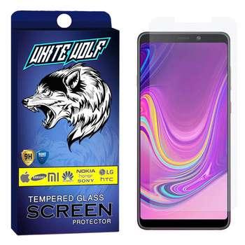 محافظ صفحه نمایش وایت ولف مدل WGS مناسب برای گوشی موبایل سامسونگ Galaxy A9 2018