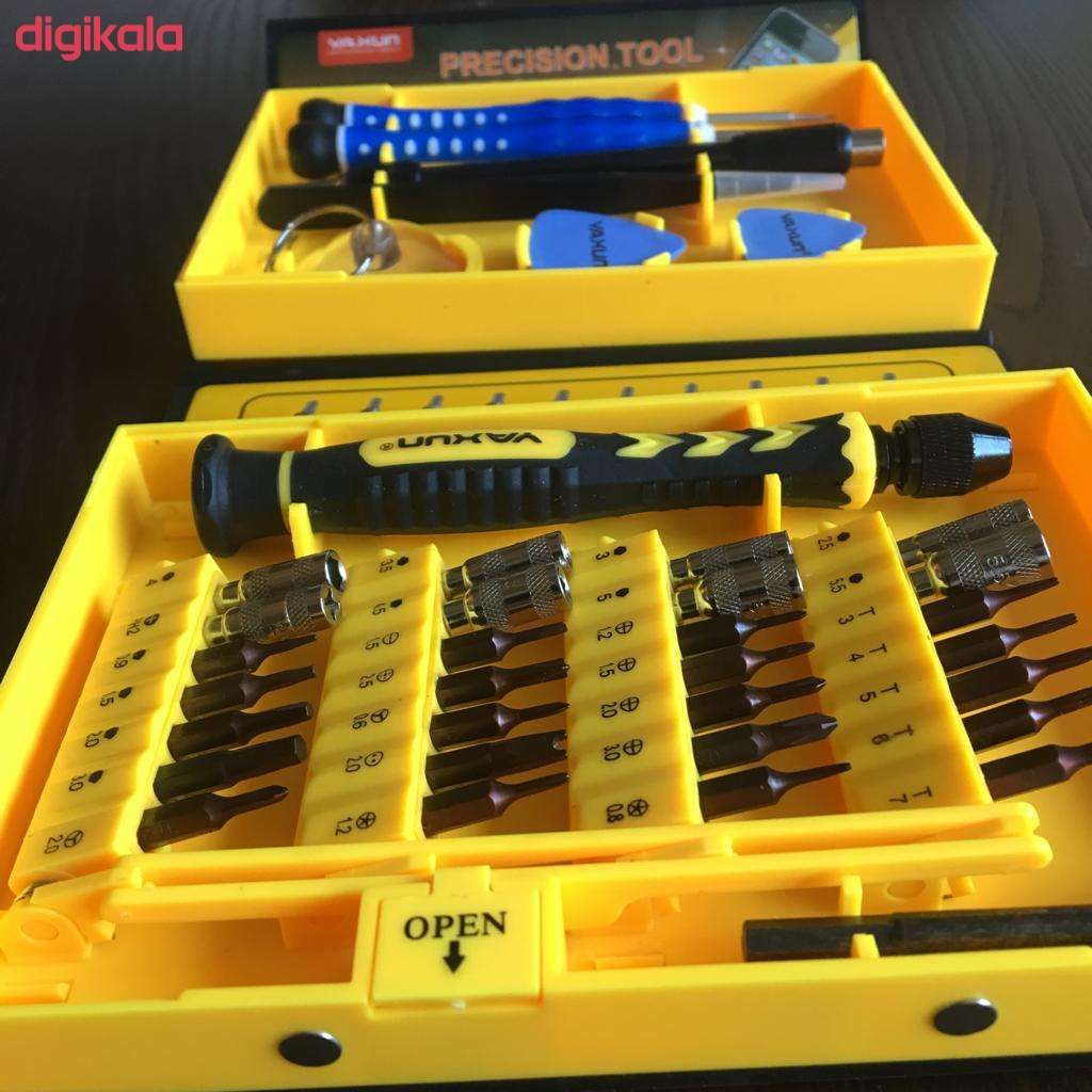 مجموعه 38 عددی سری پیچ گوشتی یاکسون مدل YX-6028 main 1 5