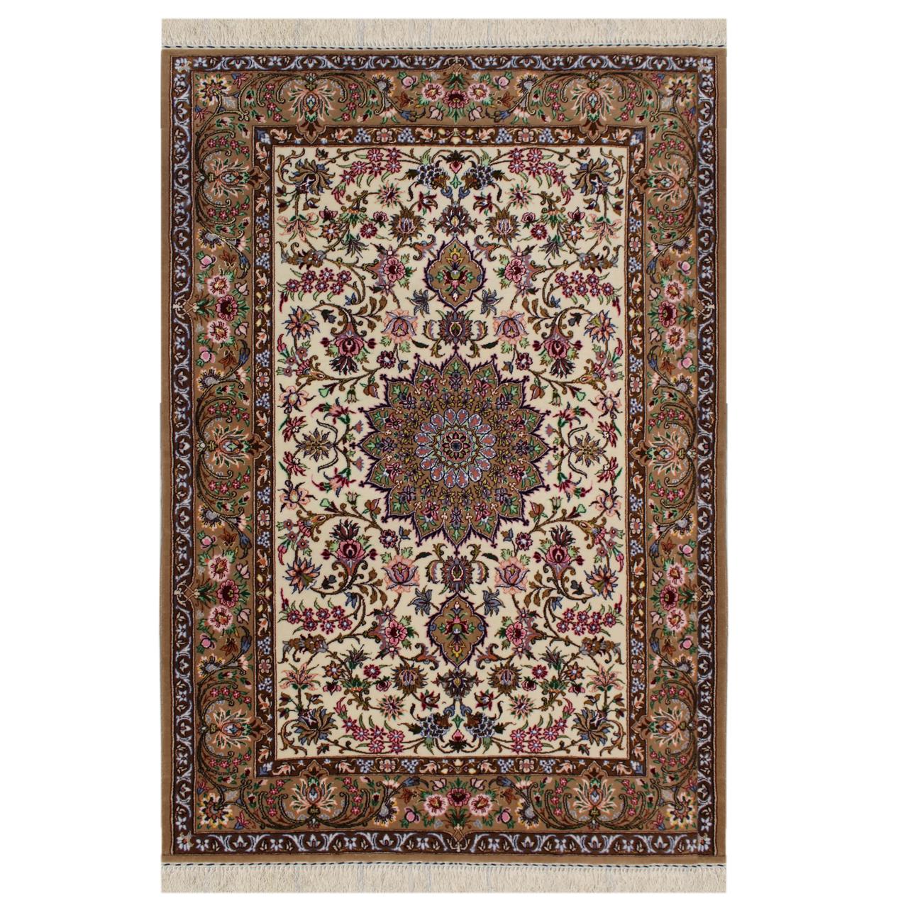 فرش  دستبافت  دو متری مدل  اصفهان  کد 1101000