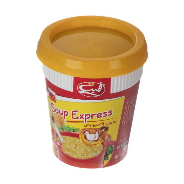 سوپ نیمه آماده مرغ و ورمیشل الیت - 35 گرم