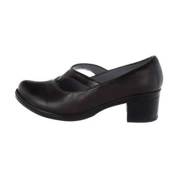 کفش زنانه طبی سینا مدل لاله  رنگ قهوه ای