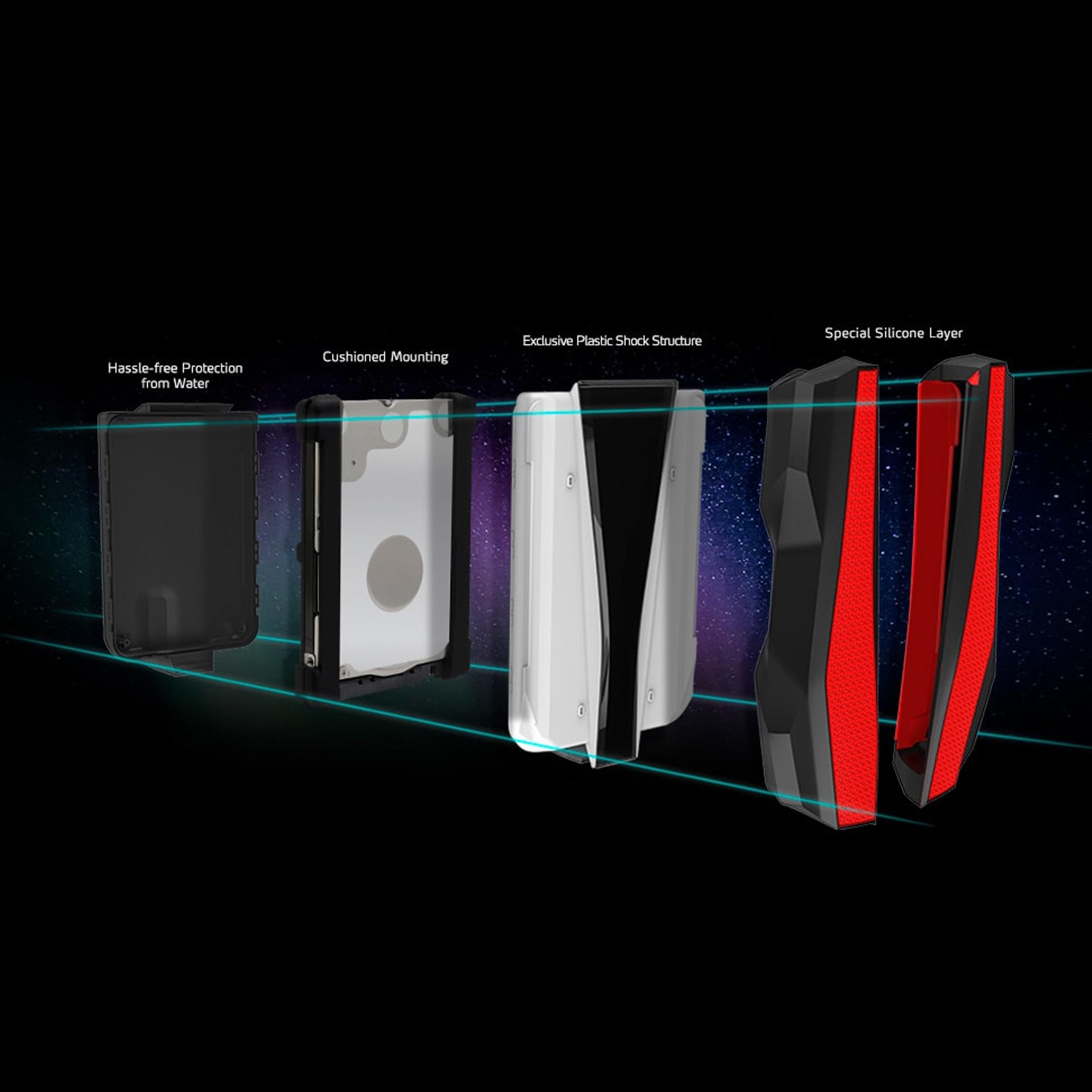 هارد اکسترنال ای دیتا مدل HD770G ظرفیت 2 ترابایت