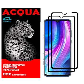 محافظ صفحه نمایش آکوا مدل SHA مناسب برای گوشی موبایل شیائومی Redmi Note 8 PRO بسته 2 عددی