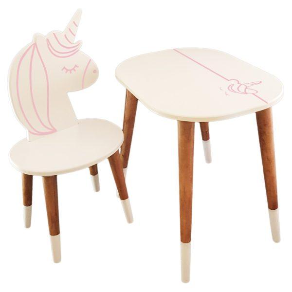 ست میز و صندلی کودک مدل Unicorn