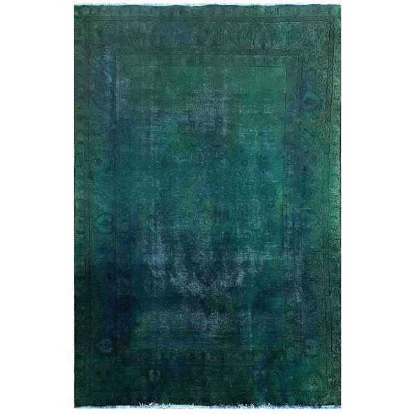 فرش دستباف رنگ شده هفت و نیم متری مدل SRV-75G1