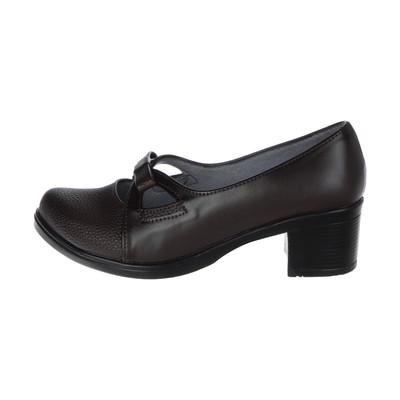 تصویر کفش زنانه طبی سینا مدل بیتا کد 2 رنگ قهوه ای